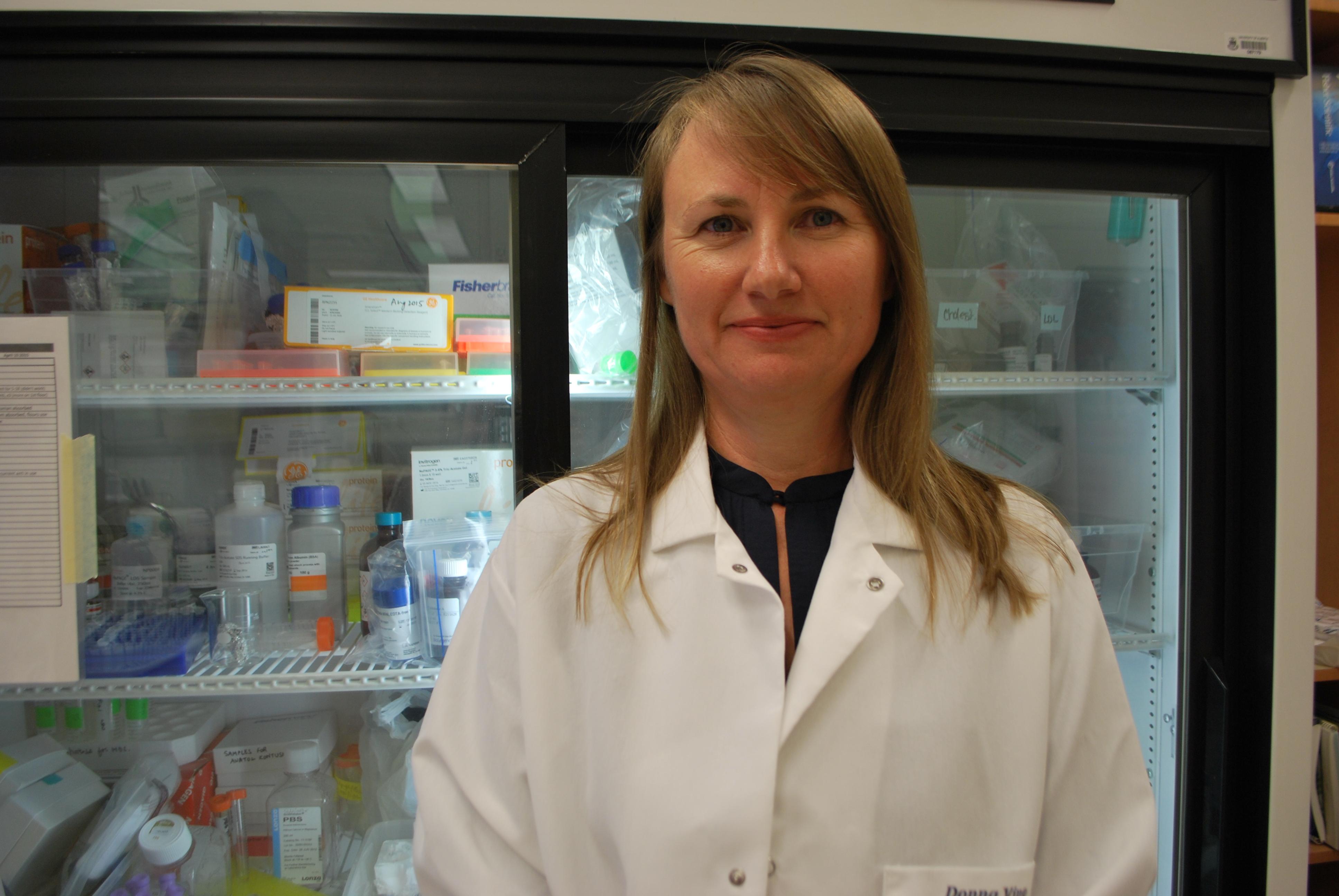 Donna Vine nutrition researcher PCOS study