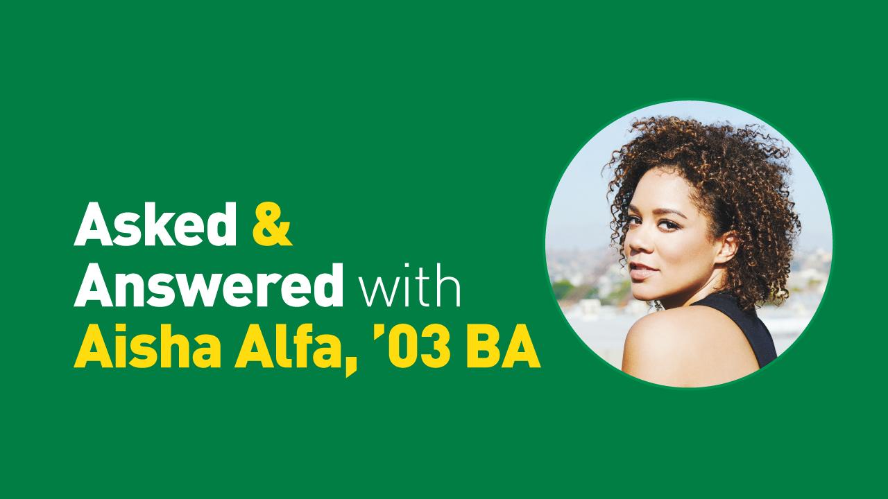 Aisha Alfa, BA,