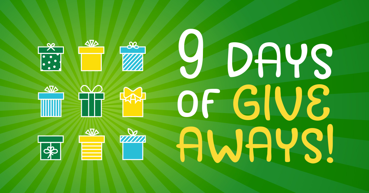 9 Days of Giveaways