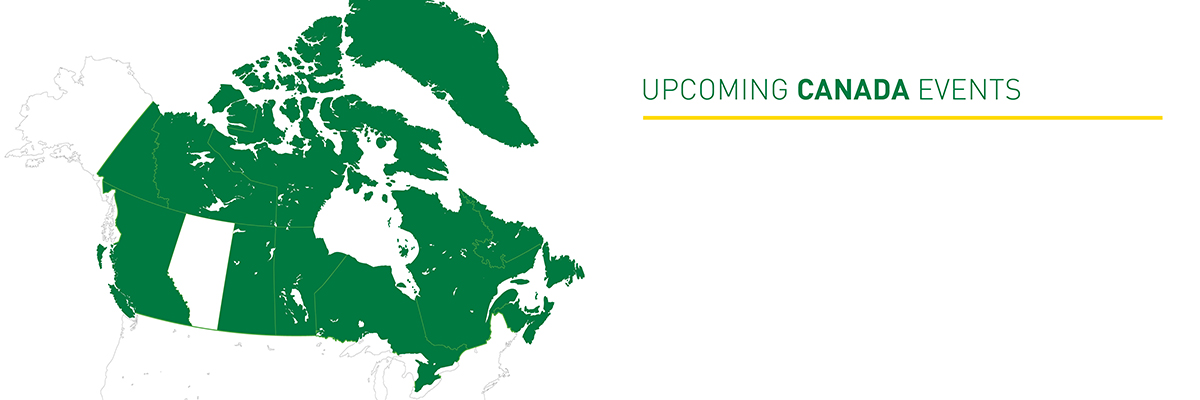 Upcoming Canada Events