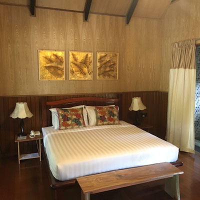 Borneo Resort Cabin Interior
