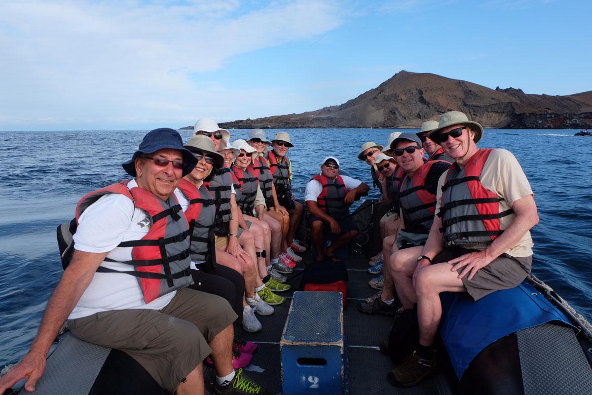 Galapagos Island tour group