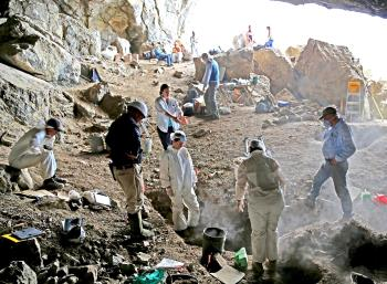 Promontory Cave Utah 2014