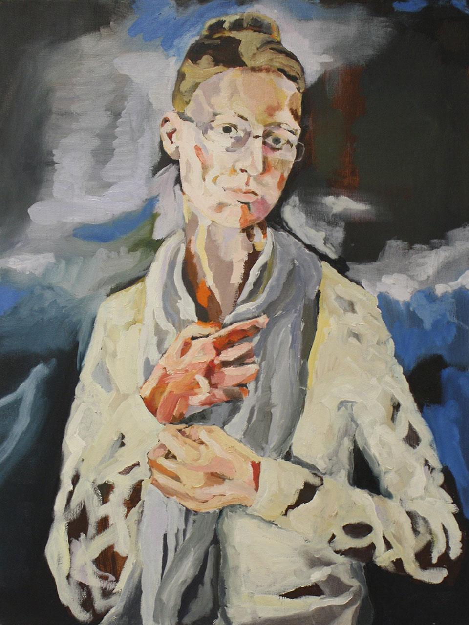 Great Self Portrait By Agata Garbowska