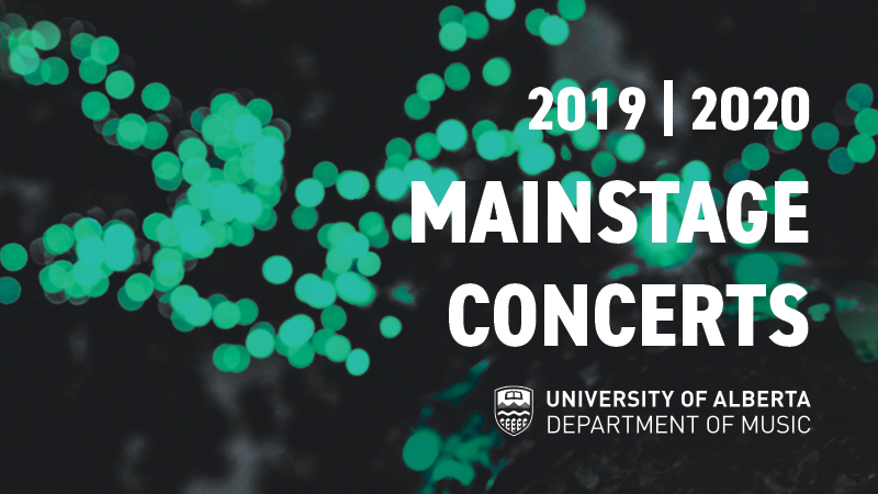 MainStage Concerts | Faculty of Arts