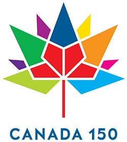 The logo for Canada 150