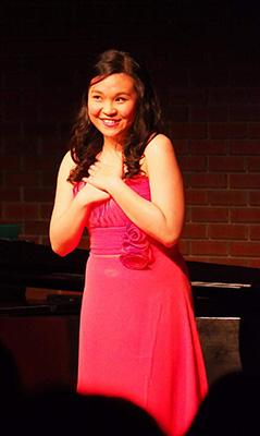 Hilda Lam performing