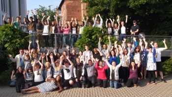 Augustana students on immersion in Germany
