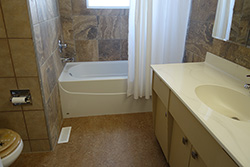 The LLCH upstairs bathroom