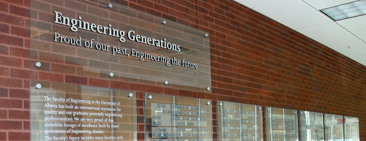 Engineering Generations Wall