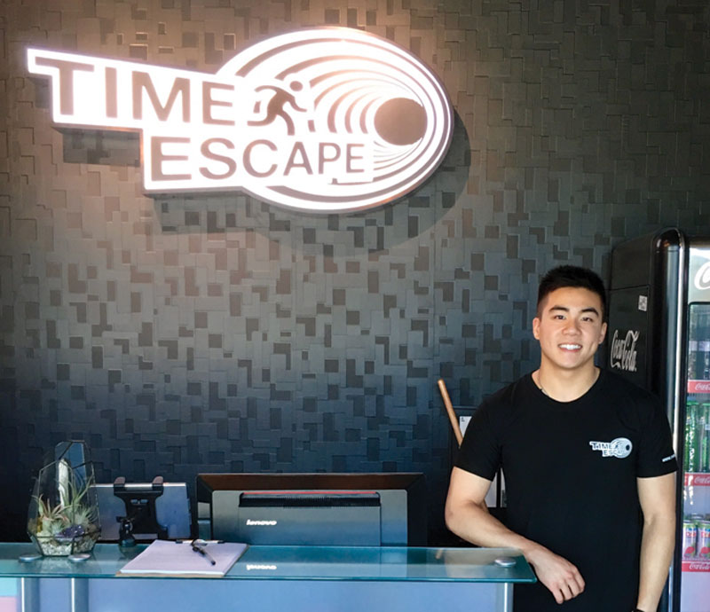 Alberta School of Business - UAlberta Business Magazine - Spring 2017 - From the Web - Marko Chong of Time Escape
