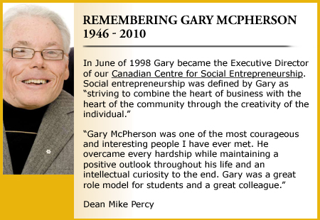 Remembering Gary McPherson