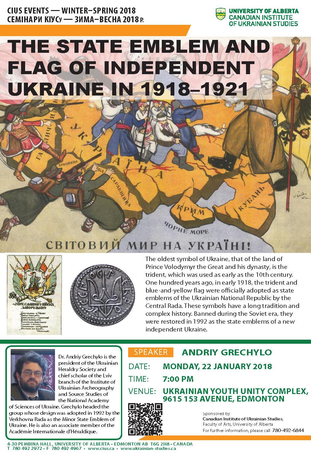 Andriy Grechylo Canadian Institute Of Ukrainian Studies