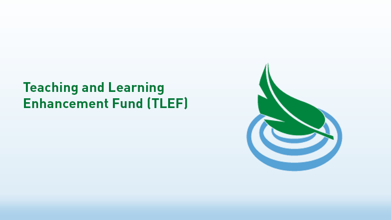 Teaching and Learning Enhancement Fund (TLEF)