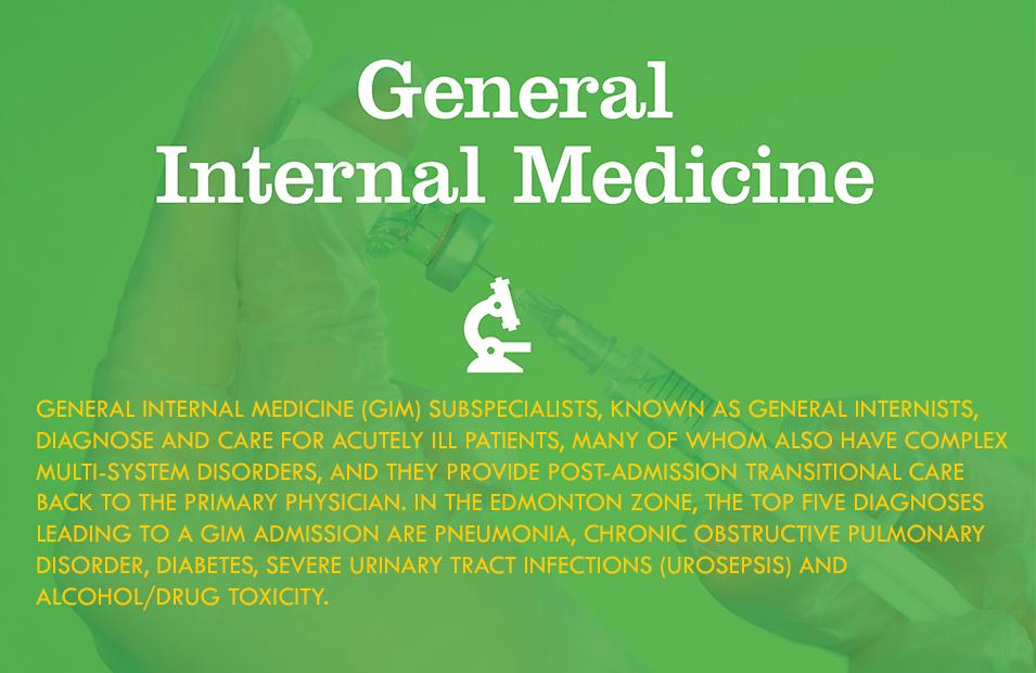 Division of General Internal Medicine | Faculty of Medicine & Dentistry