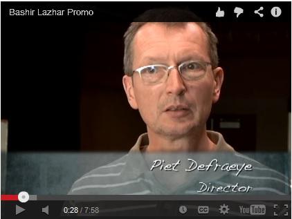Piet Defraeye: Bashir Lazhar promo