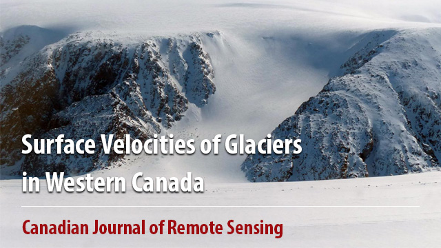 Surface Velocities of Glaciers in Western Canada from Speckle-Tracking of ALOS PALSAR and RADARSAT-2 data