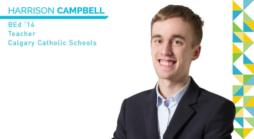Harrison Campbell | BEd '14 | Calgary Catholic Schools