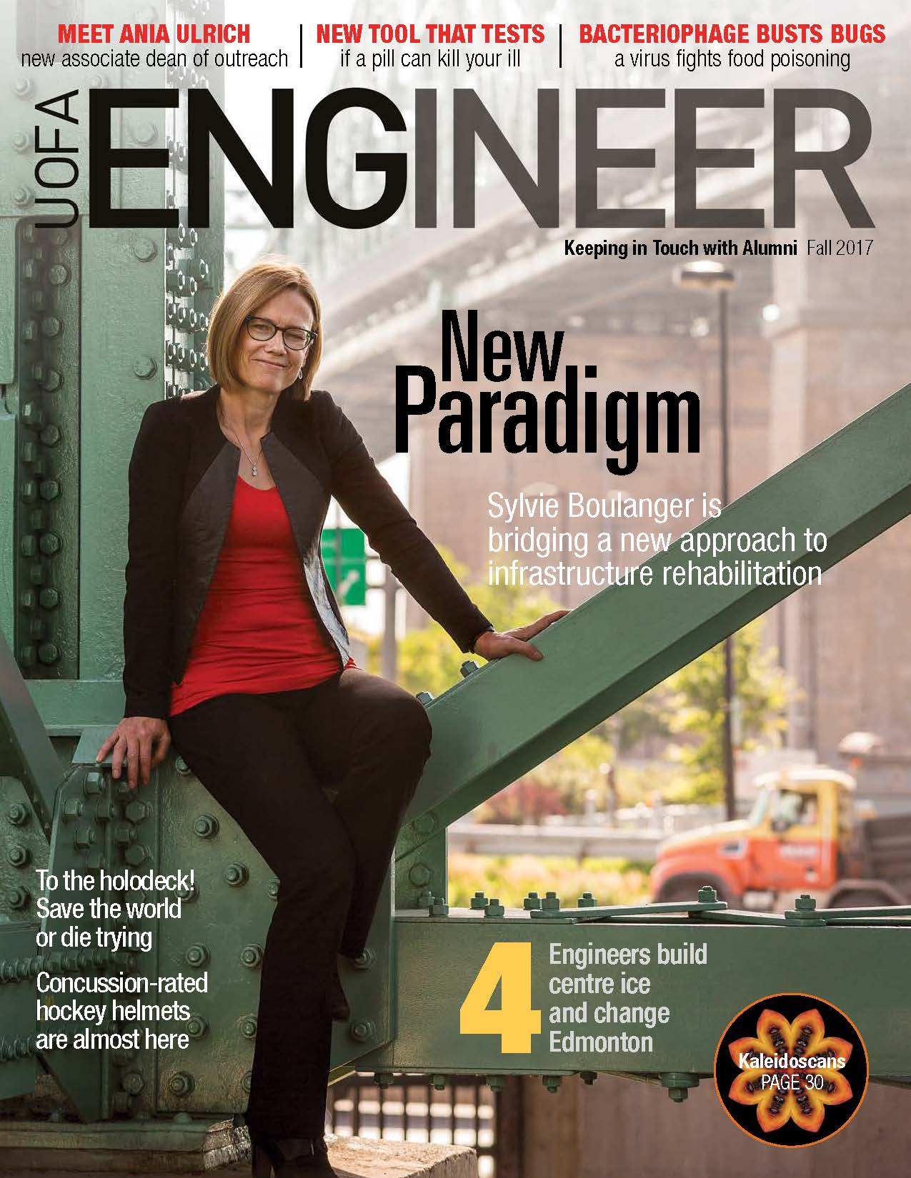 UofA Engineer Fall 2017 front Cover