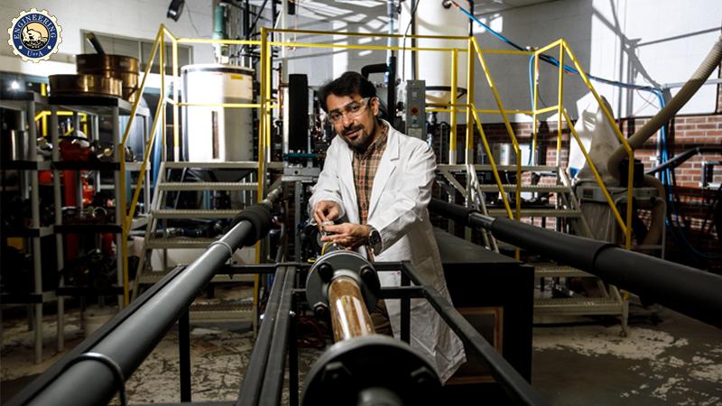 University of Alberta mechanical engineering professor Mahdi Vaez
