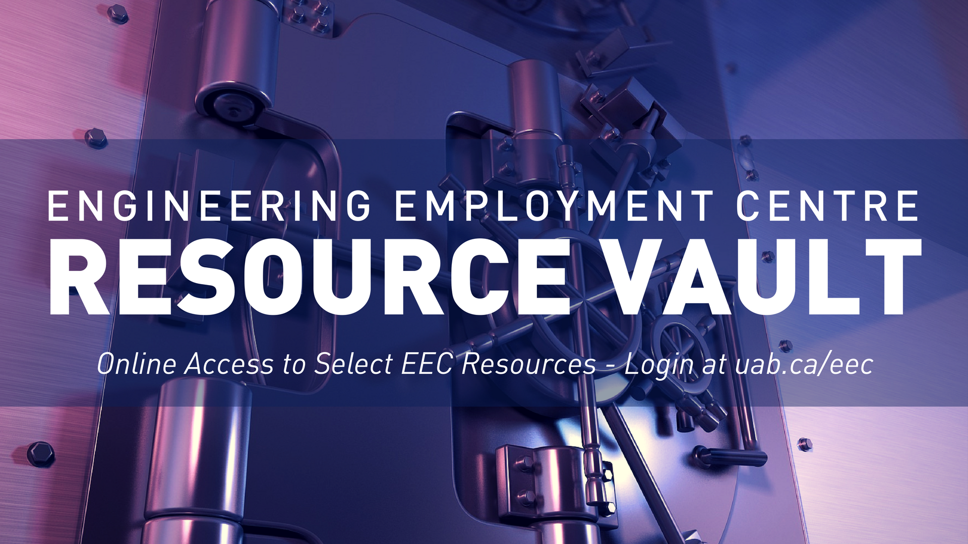 Engineering Employment Centre Resource Vault. Online Access to Select EEC Resources. Click to login now!