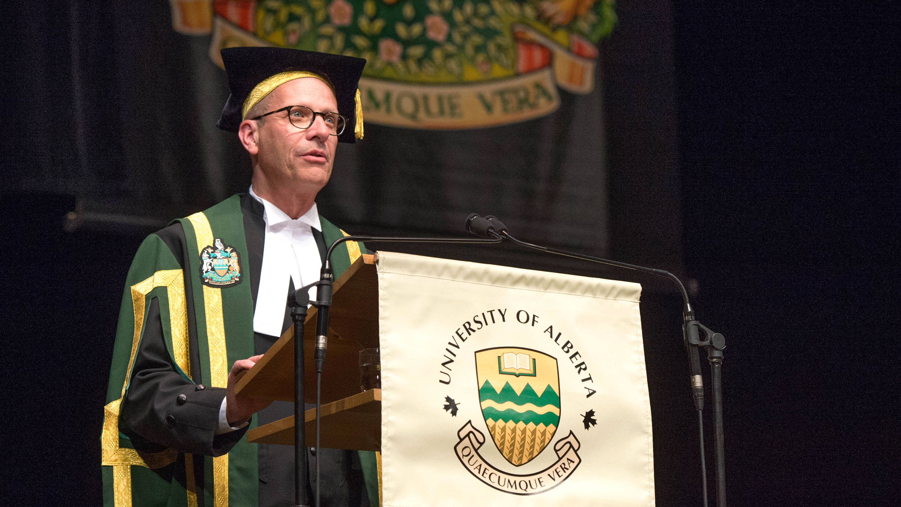 Photo of Douglas Stollery, Former U of A chancellor and alumnus