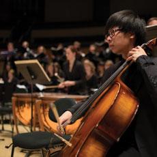 Cellist in UAlberta Symphony