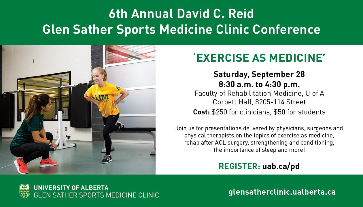 Glen Sather Sports Medicine Clinic