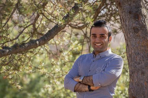GSA VP Academic Masoud Aliramezani