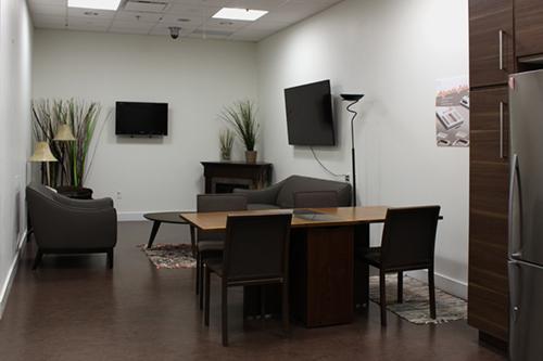 Smart Condo Living room