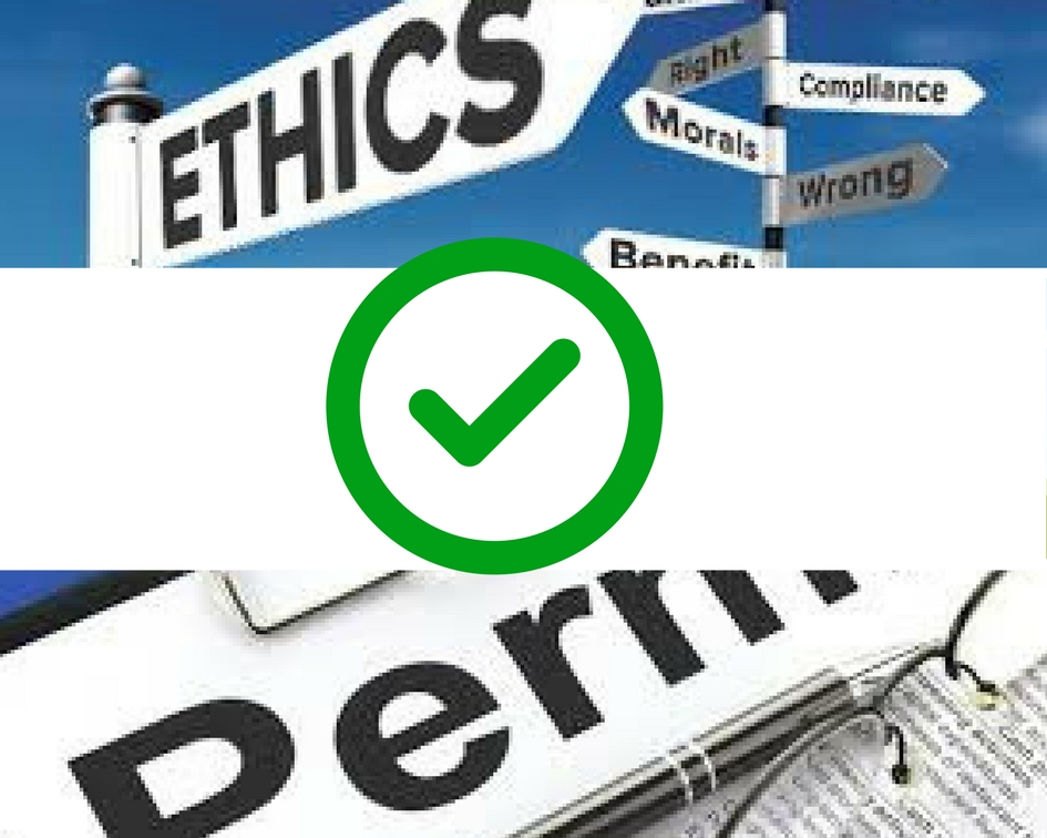 Ethics and permissions