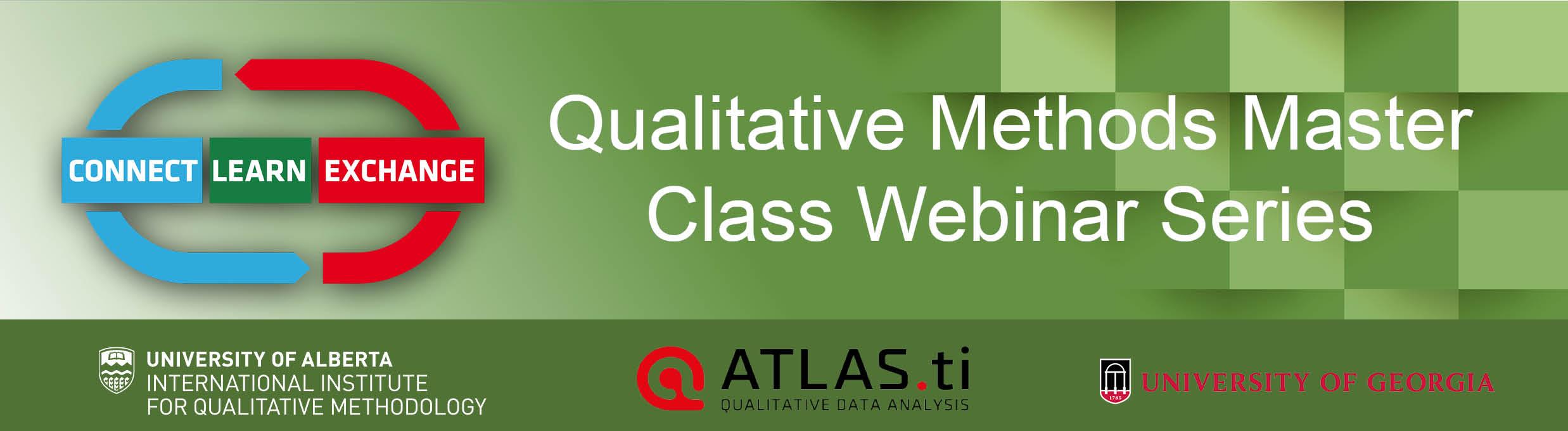 Master Class Webinar Series header