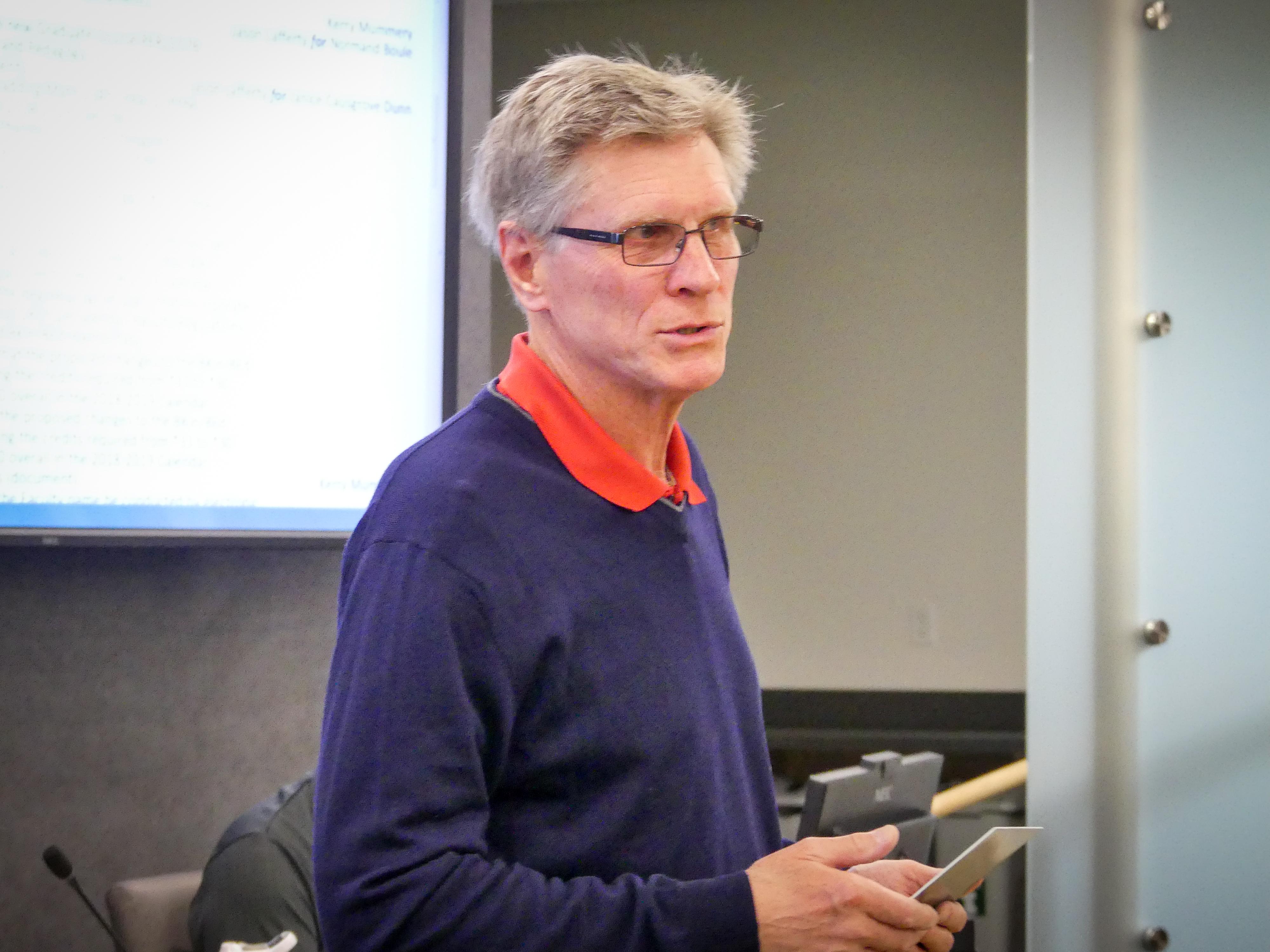 Dr. Stewart Petersen Retirement