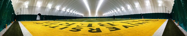 Panorama of the Dome at Foote Field