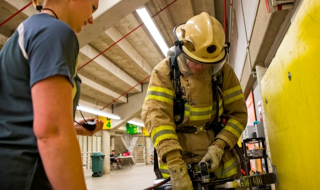 Firefighter Fitness Testing | Faculty of Kinesiology, Sport