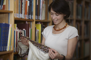 Archivist Maryna Chernyavska