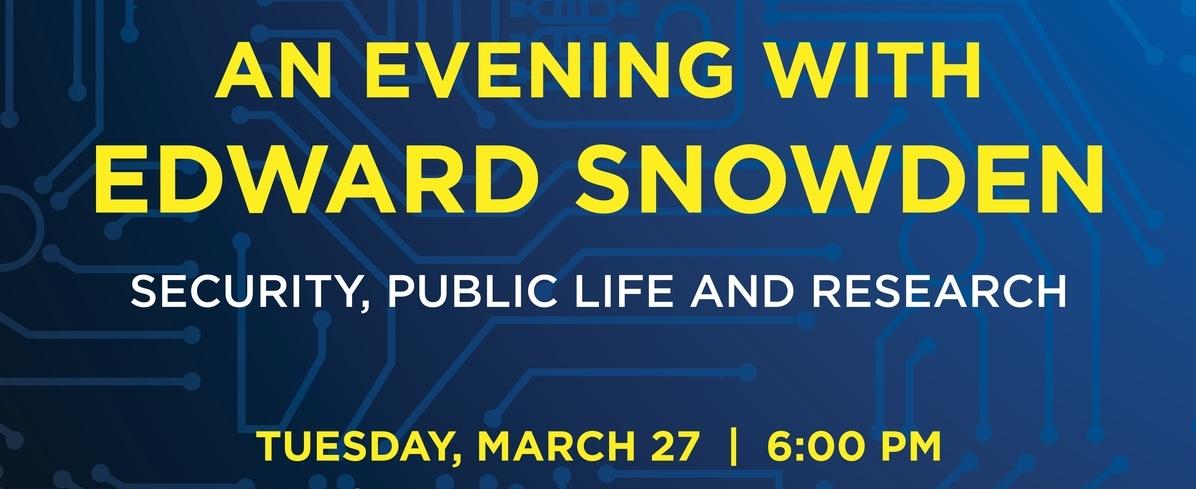 Snowden UAlberta event banner
