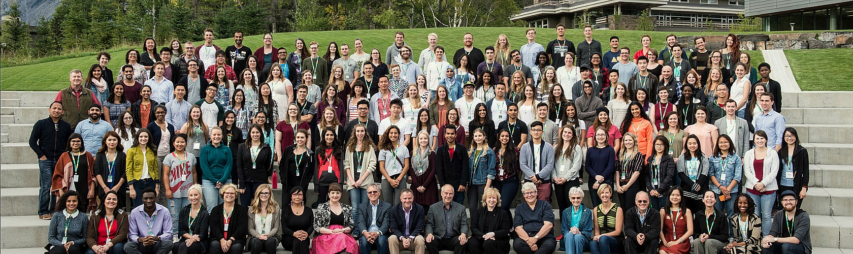 Class photo of 2016 students