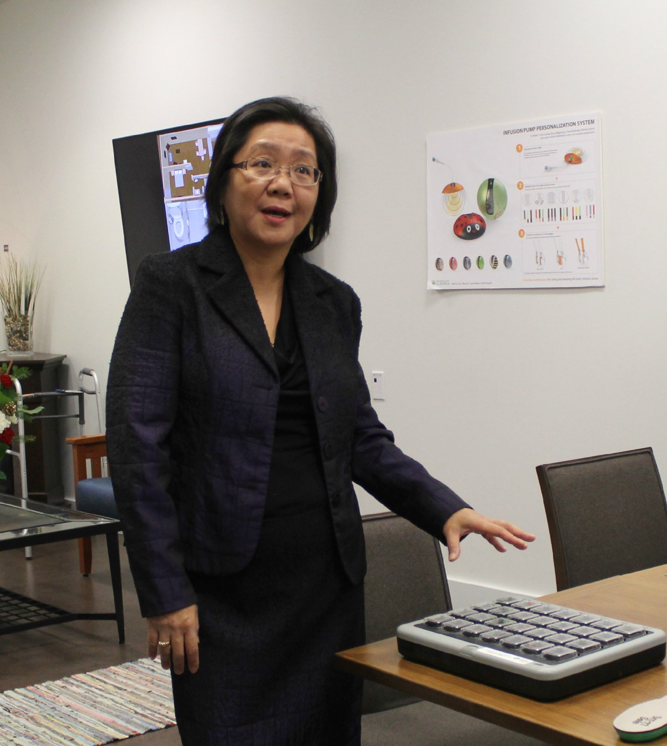 Dr. Lili Liu, Chair, Occupational Therapy, co-academic lead for the U of A's Smart Condo