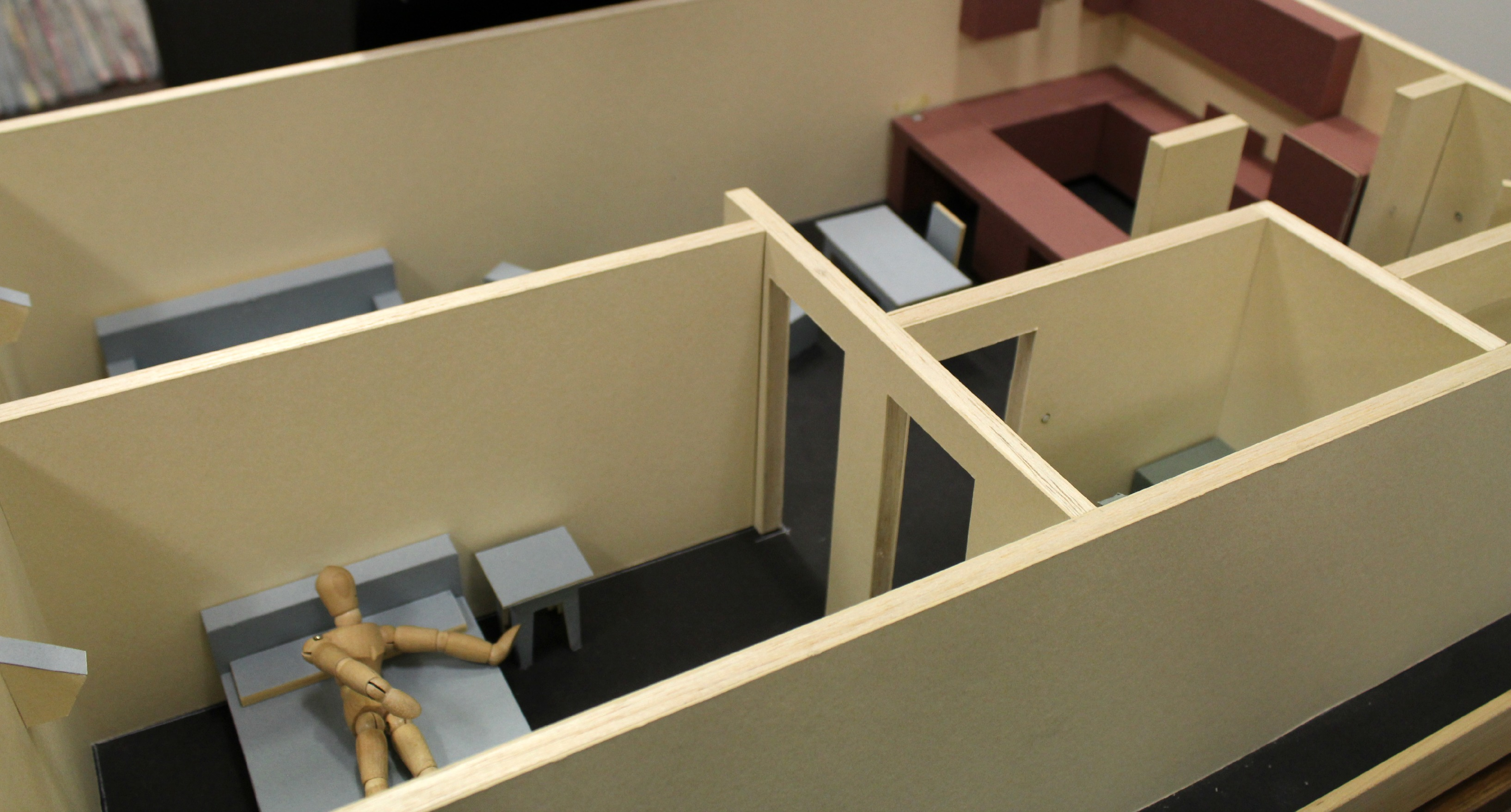 A Smart Condo model used to demonstrate the deployment of universal design.