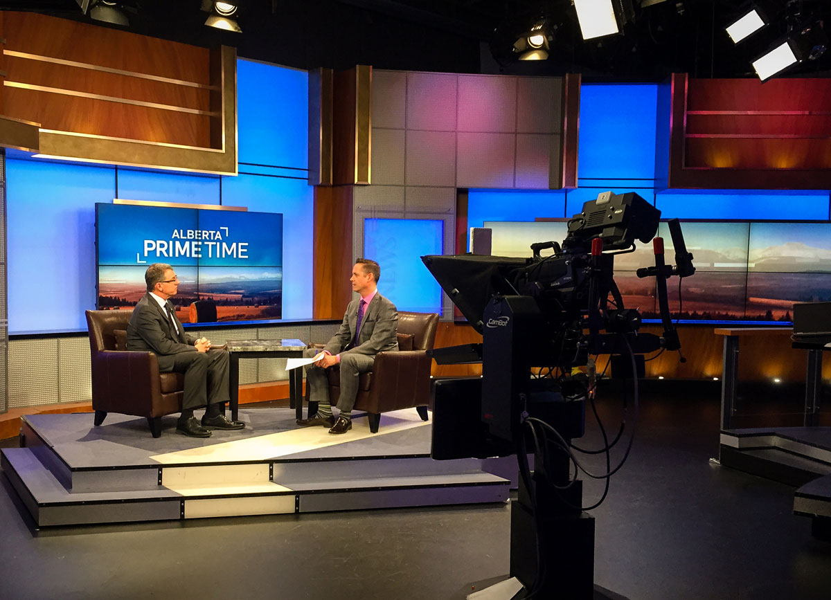 President Turpin's interview on Alberta Primetime