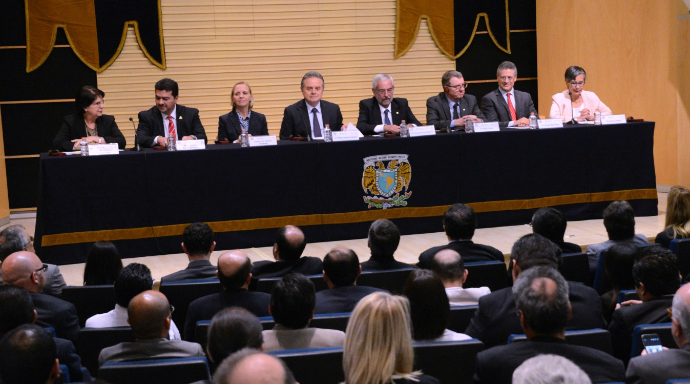 President Turpin at the National Autonomous University of Mexico