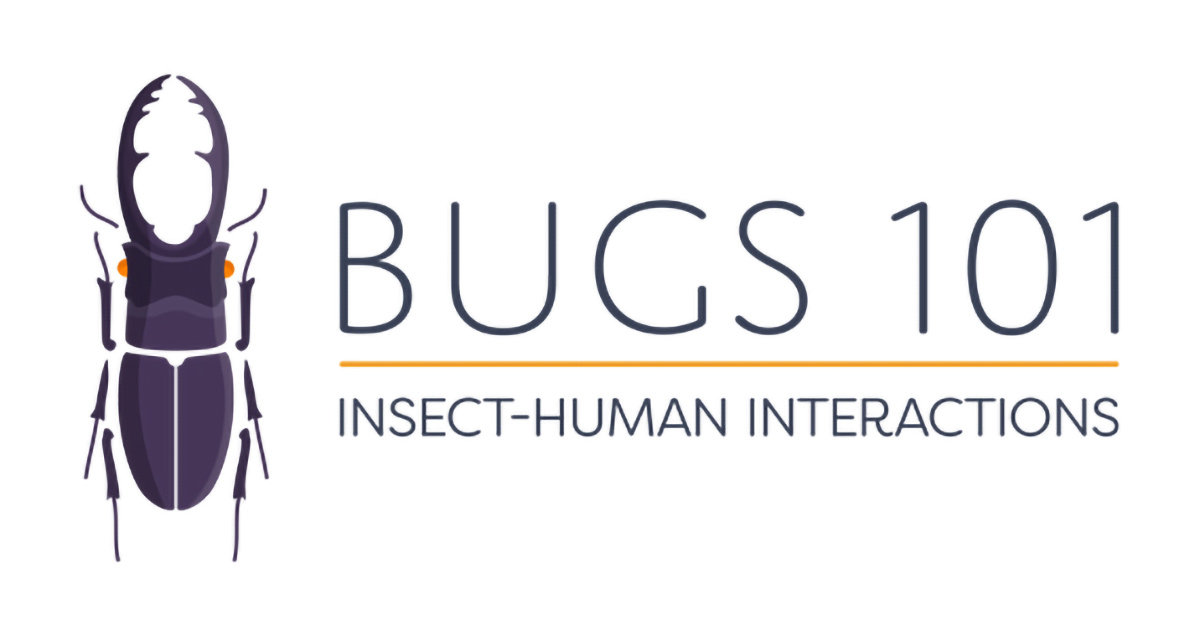 Bugs 101 Insect Human Interactions MOOC Logo