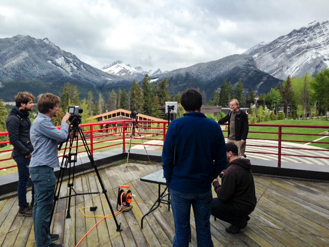 Dr. Stephen Slemon at the Banff Centre in Banff National Park for Mountains 101