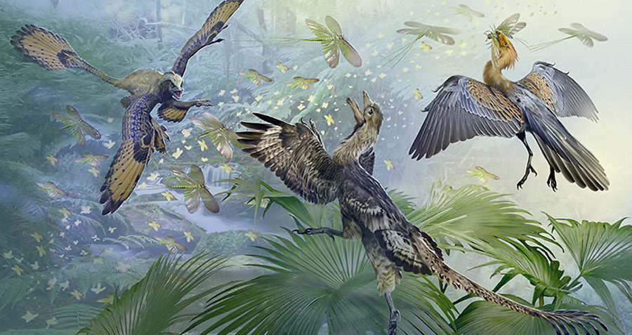 Theropod Dinosaurs and the Origin of Birds