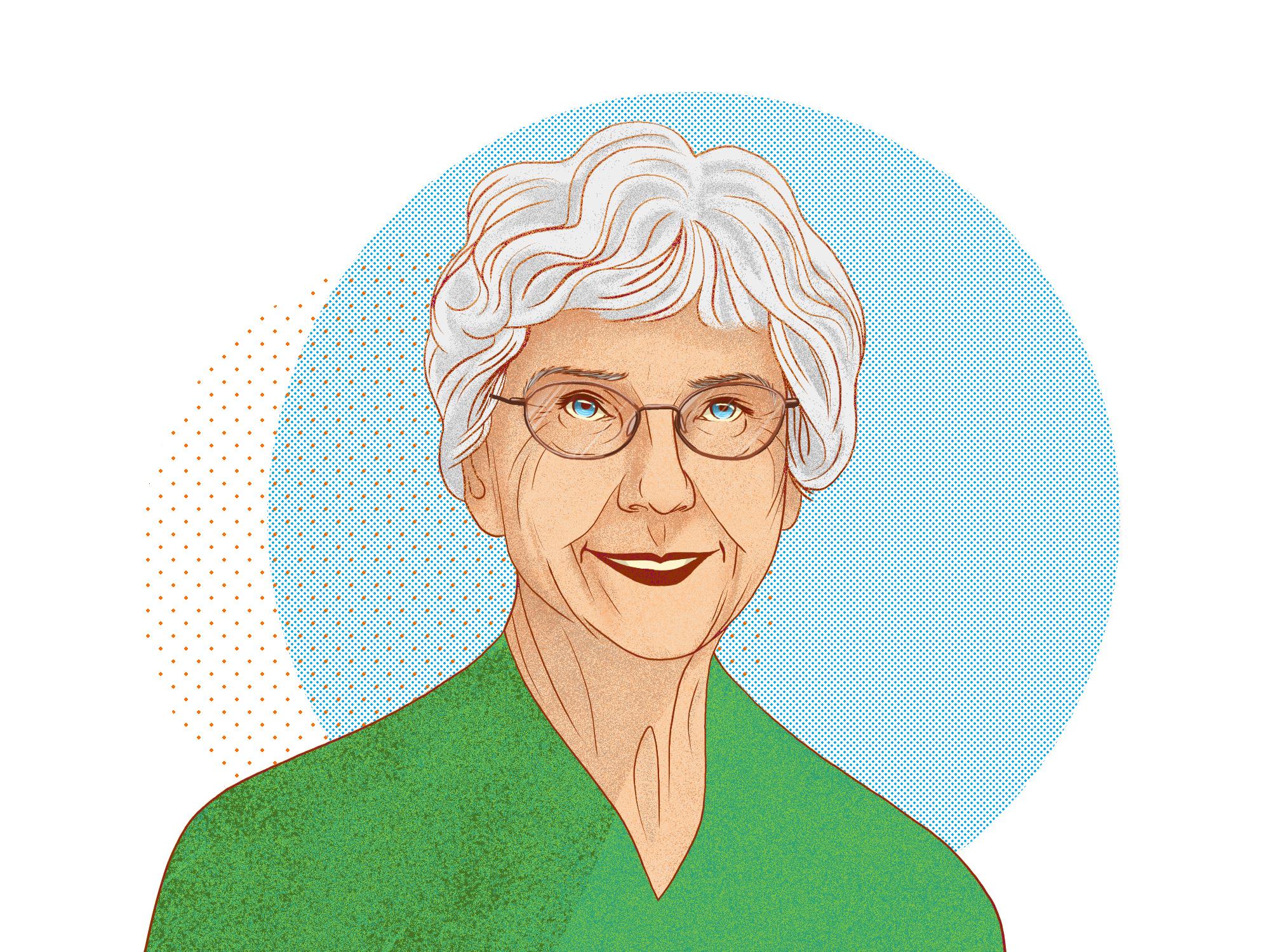 Margaret-Ann Armour, '70 PhD (Illustration by Jordan Carson)
