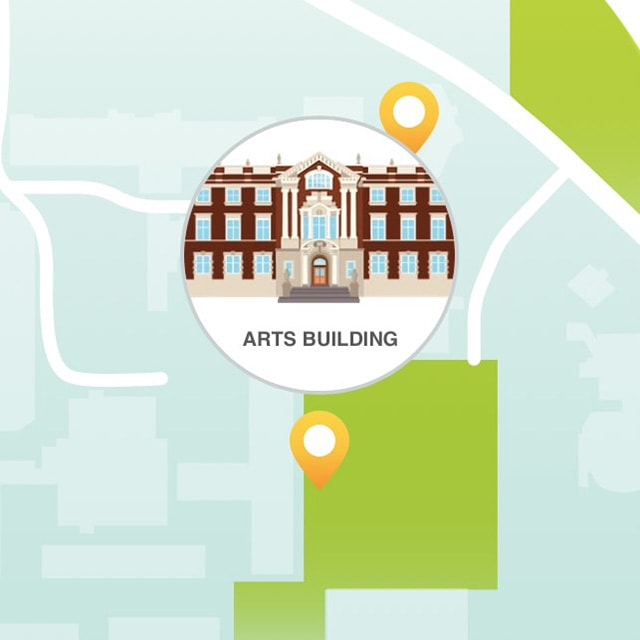 Convocation photo map