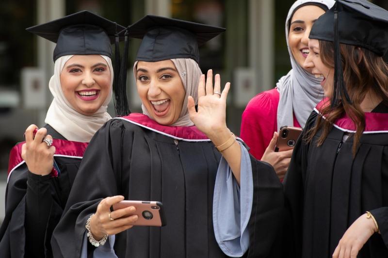 Women at UAlberta Convocation 2018