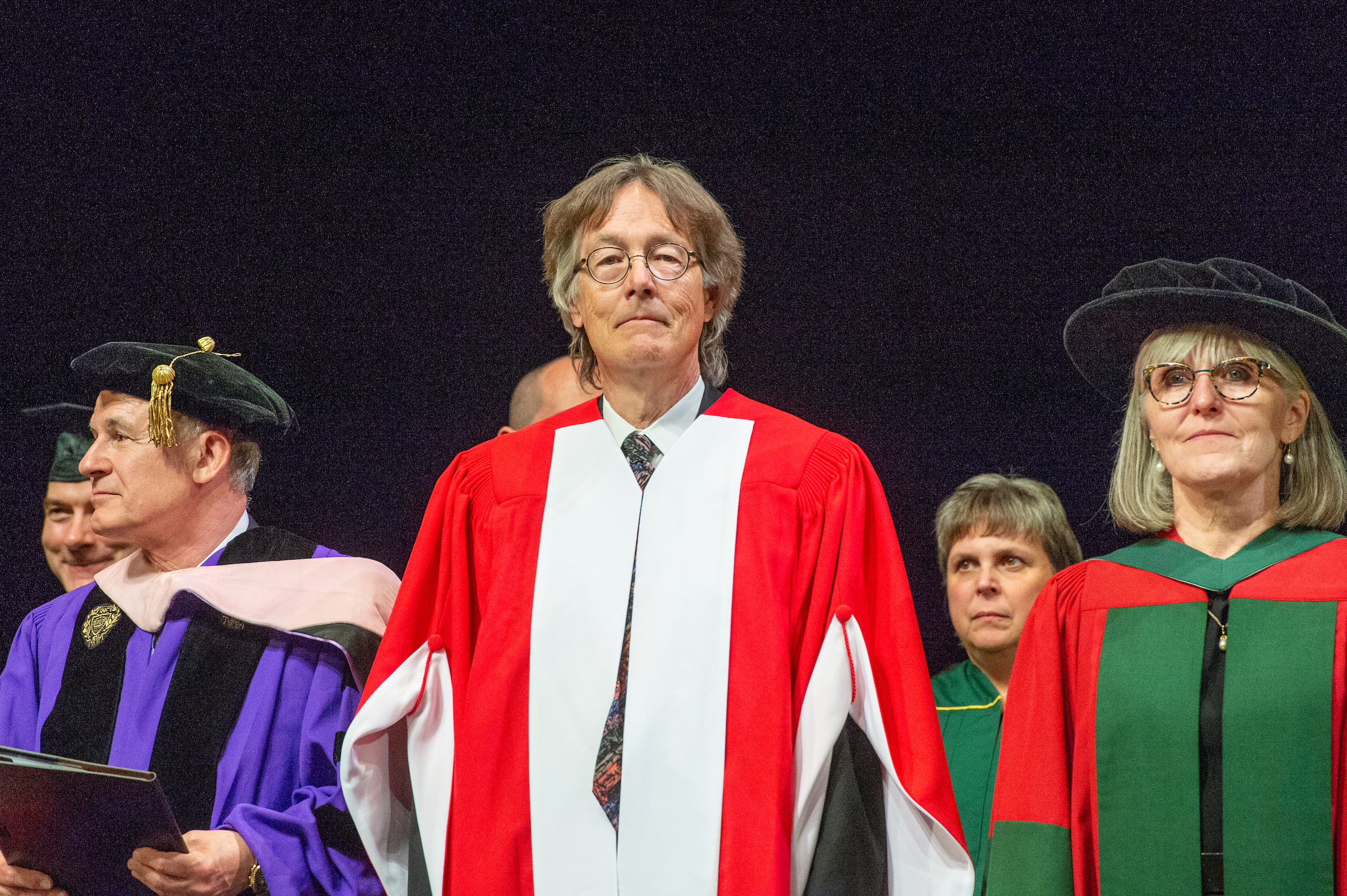 Allan Gordon Bell, honorary doctor of letters
