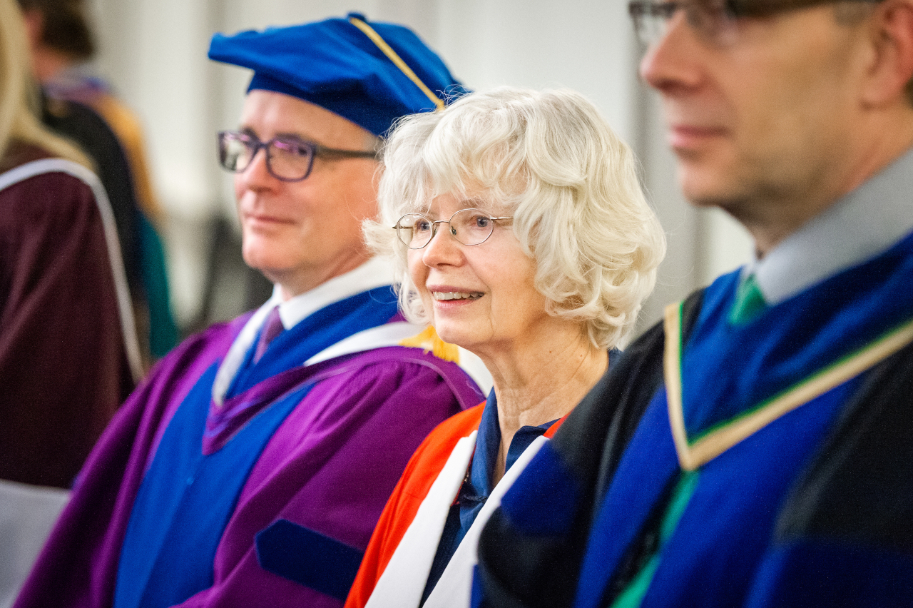 Alice Major, honorary doctor of letters